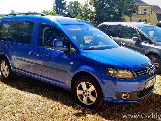 Mein Caddy 3 Facelift Maxi Comfortline Typ 2CJ K94, Bj.11/2014, Gebrauchtkauf 4/2020 nach über sechs Monaten intensiver Suche Bundesweit (wegen Traum-Konfiguration). Abholung aus 654 KM Entfernung :-)