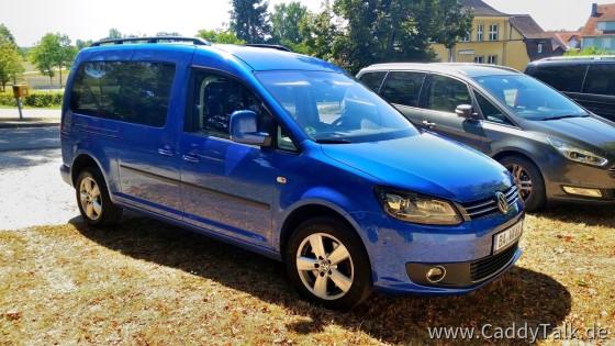 Mein Caddy 3 Facelift Maxi Comfortline Typ 2CJ K94, Bj.11/2014