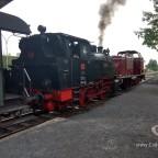 Dampf-Lokomotive HC 5 vom Typ B350 und  Lokomotive V 15