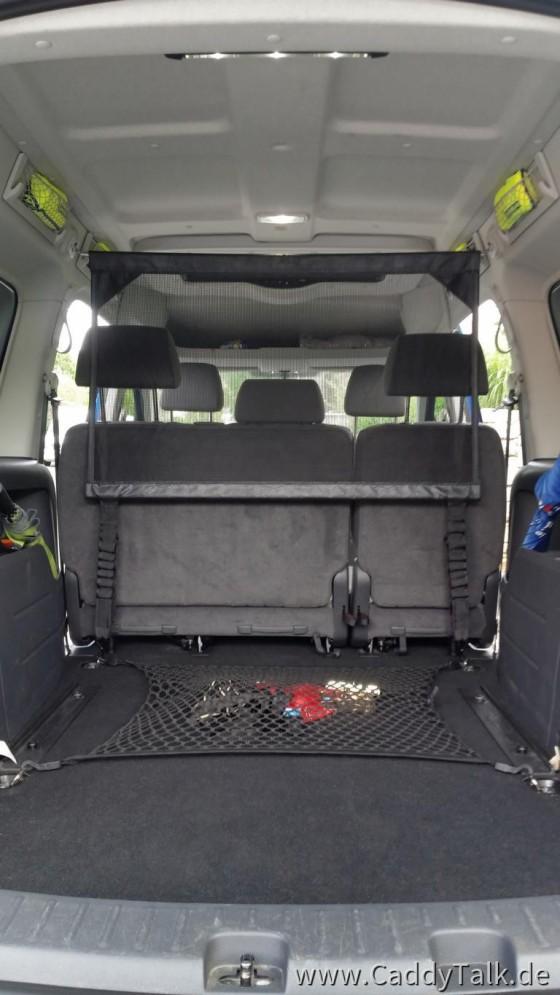 VW Netze, Original Zusatz-LED-Innenlicht über Kofferraum (5-Sitz Konfiguration)