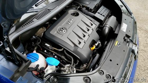 """Der Motordeckel dämpft das """"nageln"""" deutlich...."""