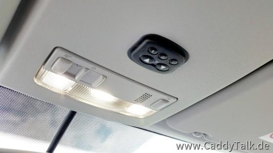 LED-Innenbeleuchtung durchgehend mit 4000° K, Comfort-FB für Schiebedach