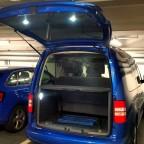 LED Arbeitslicht Kofferraum/Heckklappe, Rückhaltenetz (bei 7-Sitz Konfiguration)