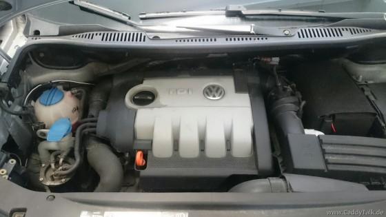 2.0TDI Motorabdeckung